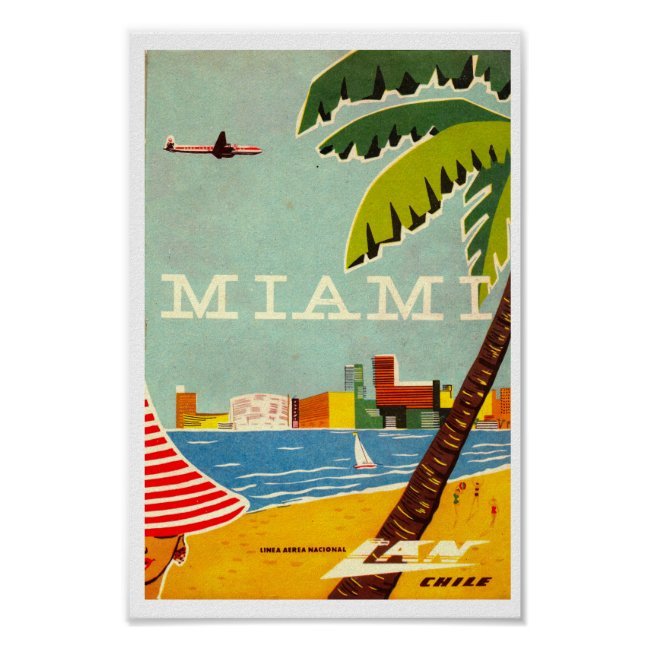 Personalized Vintage Travel Posters