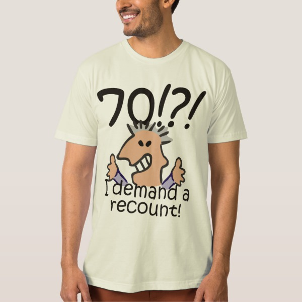 70th birthday shirts