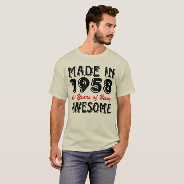 Years Of Being Awesome T-Shirts