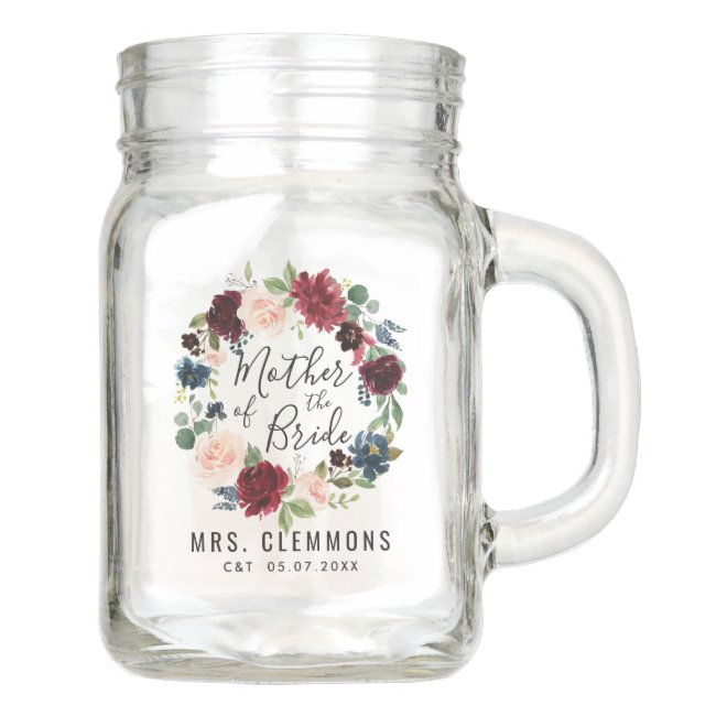 Personalized Wedding Mason Jars