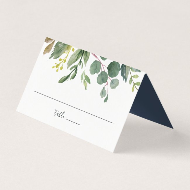 Personalized Wedding Place Cards