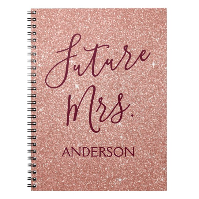 Personalized Wedding Planner Notebooks