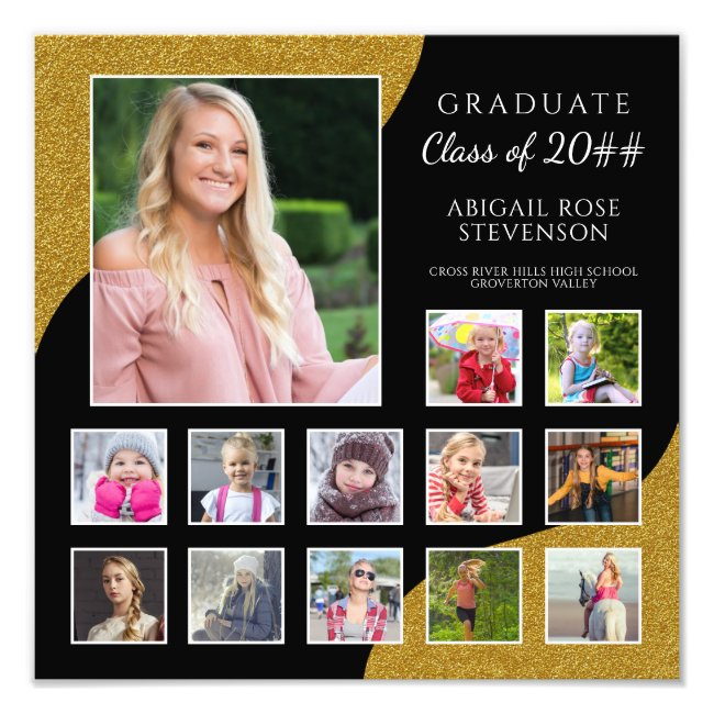 Personalized Graduation Posters and Prints