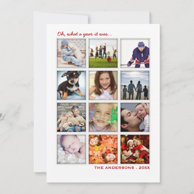 Personalized New Year's Cards